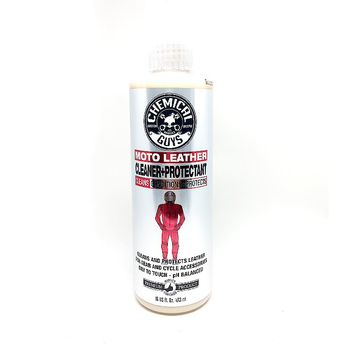 美國Chemical Guys Moto Leather Cleaner Protectant 化學男人幫重機皮件保養劑