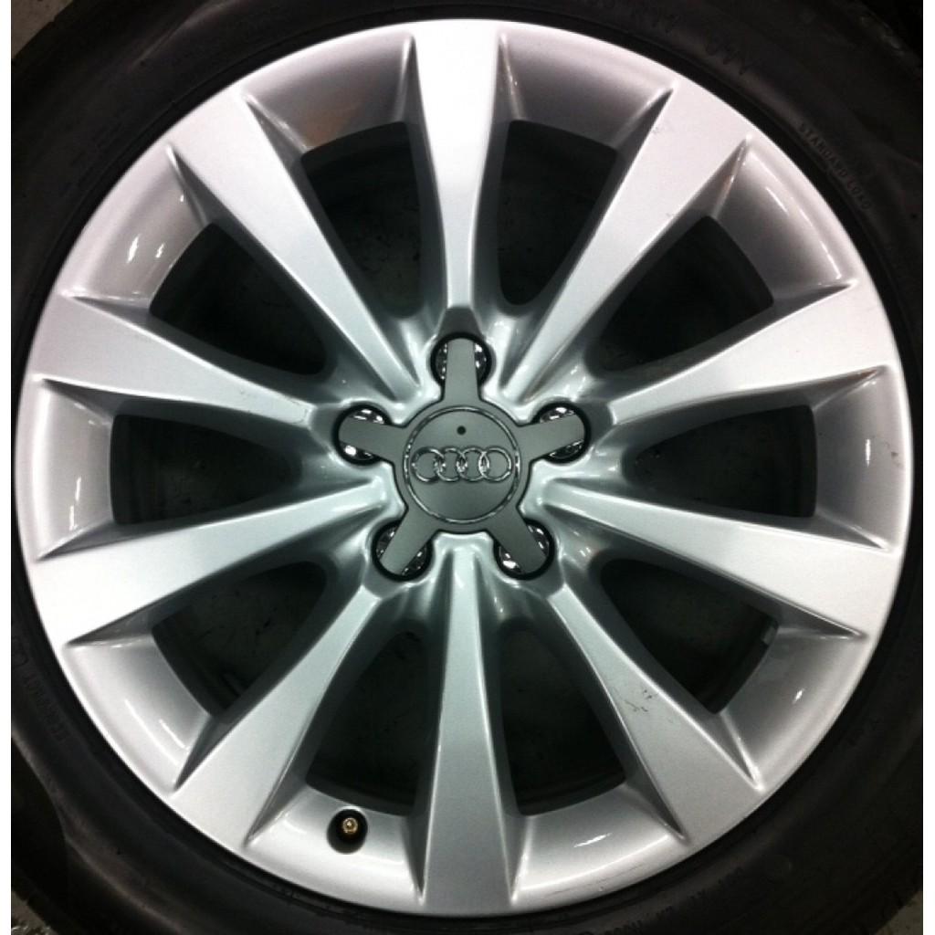 AUDI A6 17吋 原廠 鋁圈 新車拆下 5X112 7.5J ET39