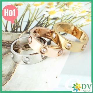 卡地亞 戒指 Cartier 卡地亞 滿鑽 LOVE系列戒指窄版戒指專櫃正品定製採用進口5A鋯石