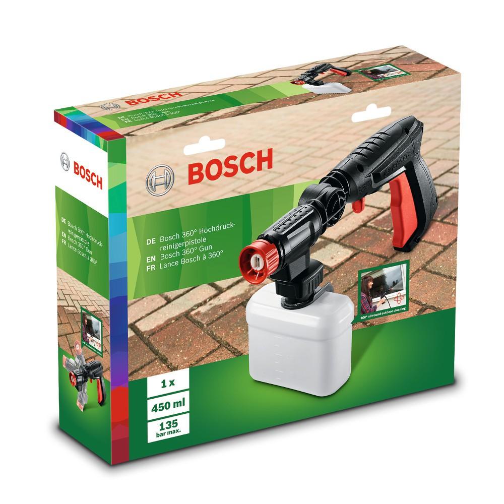 BOSCH 360度高壓噴水槍、延長高壓軟管、地面清潔器 適用於AQT33-11/EA110/UA125【現貨含發票】