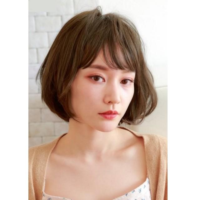 假髮帽 醫療假髮 記憶絲假髮 化療帽 鮑伯頭款 日本進口 深棕色