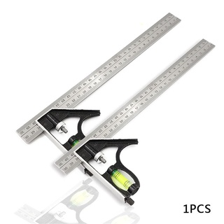 新款不鏽鋼游標卡尺0-300mm 遊標卡尺遊標卡尺 硬質不鏽鋼製 不銹鋼可調組合角尺角度尺測量工具