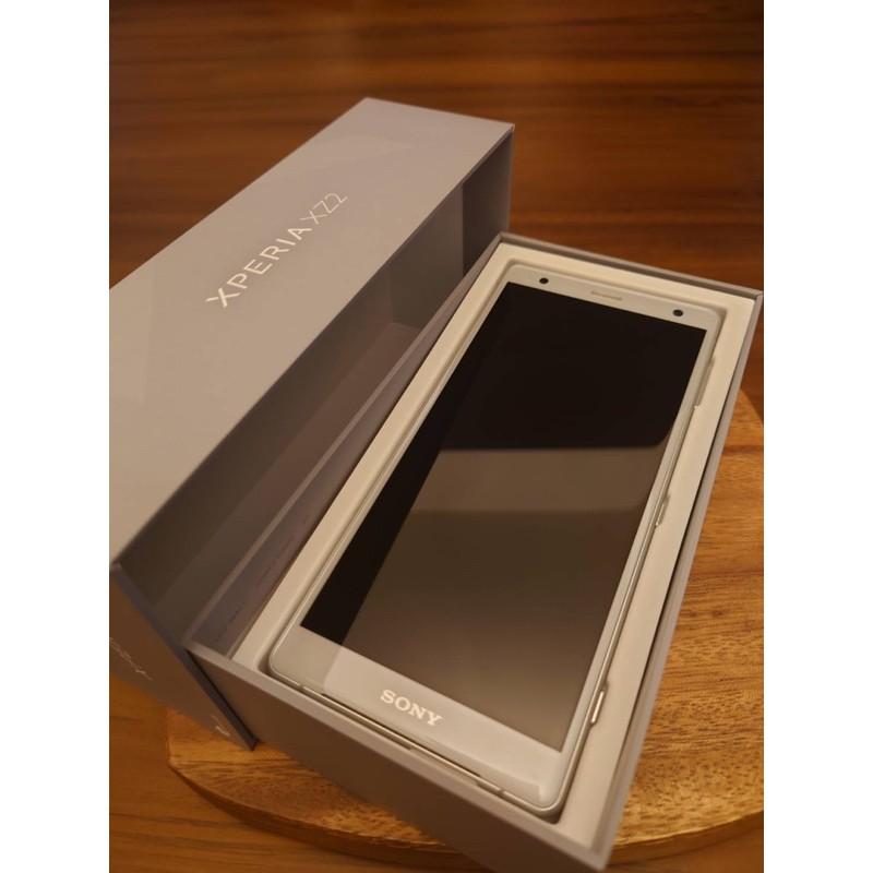 SONY Xperia XZ2 清透銀 二手 九成新 正常使用痕跡 原廠盒裝