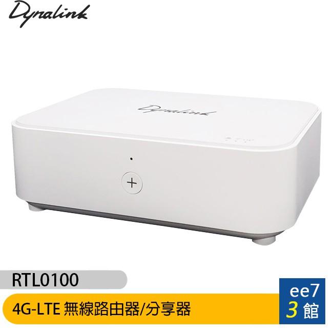 Dynalink RTL0100 4G-LTE無線路由器/分享器【ee7-3】