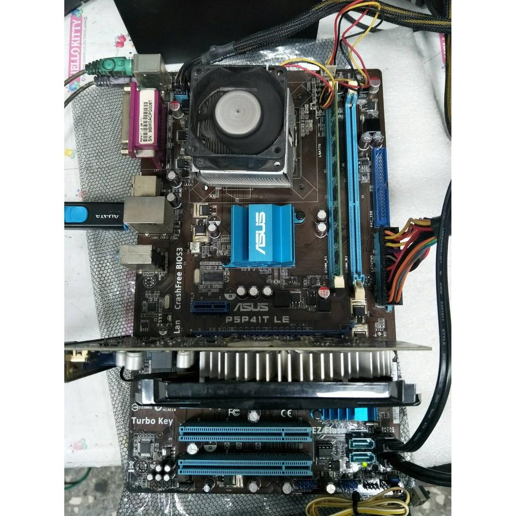 【光華維修中心】 ASUS P5P41T LE+Q9400(四核心) CPU合賣(含風扇) (二手良品)-M16