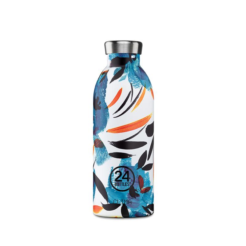 【24Bottles 城市水瓶】不鏽鋼雙層保溫瓶 500ml/純粹幸福