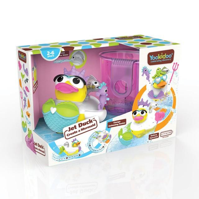 以色列 Yookidoo 戲水玩具_小美人鴨