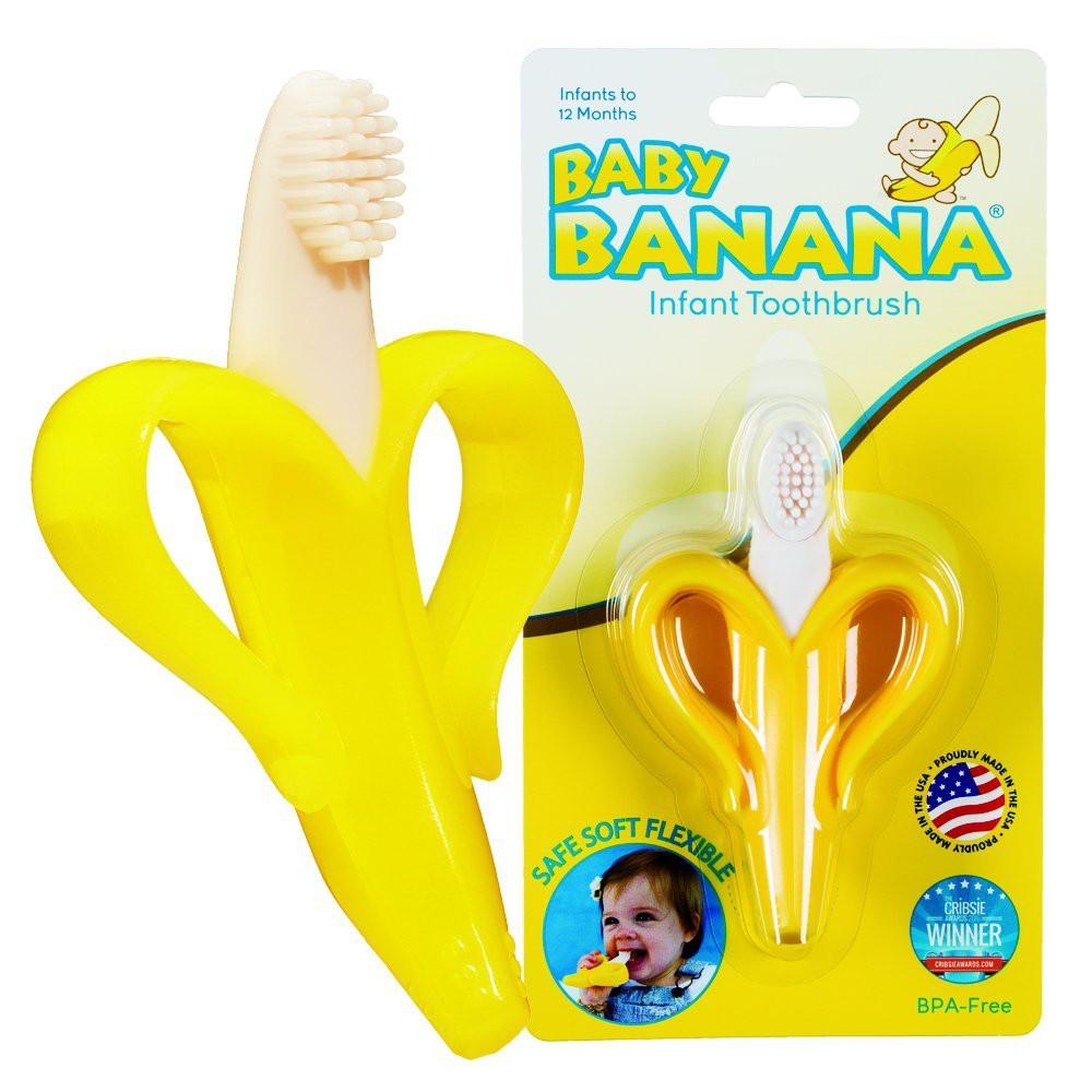 * Baby Banana 寶寶固齒器 心型香蕉 香蕉 磨牙器 固齒器 玉米 固齒器