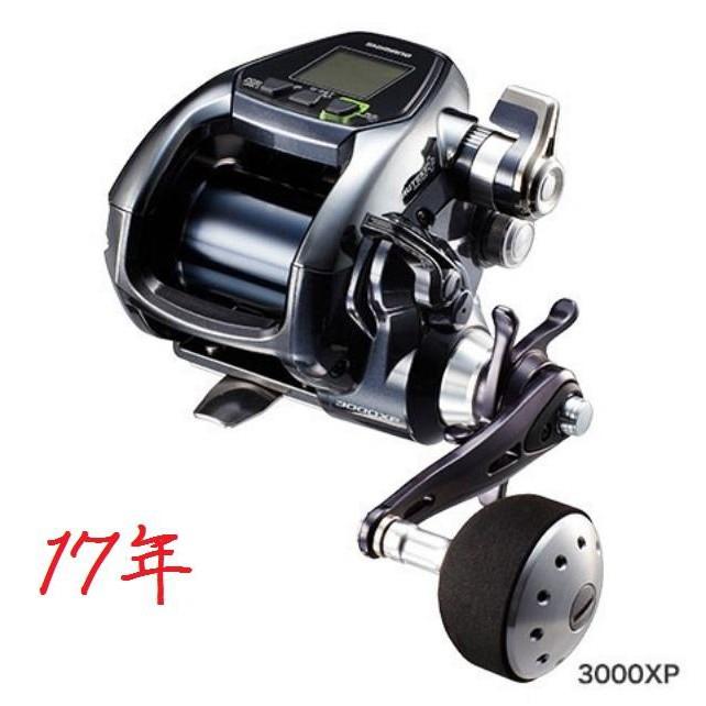 shimano 17 Force Master 3000XP FM3000XP 電動捲線器 電捲船釣鐵板路亞