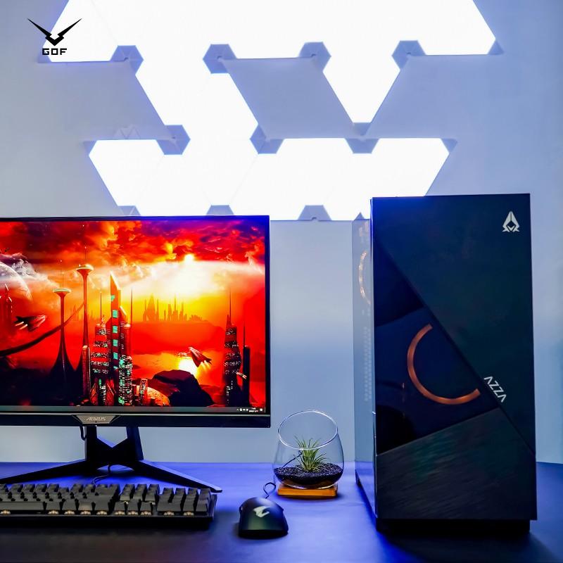 【小可愛】GOF工蜂 新品預售i5 10400 10700 RTX3060TI游戲水冷組裝臺式主機