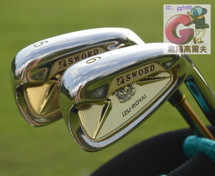 日本KATANA Sword izu-royai高爾夫鐵桿組高爾夫球桿男士鐵桿碳素