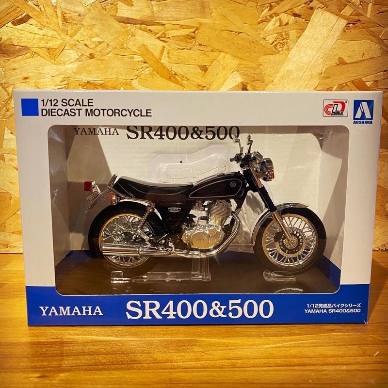 SR400 SR500 YAMAHA 1:12模型