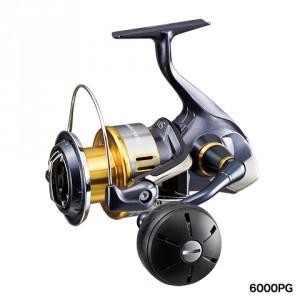 SHIMANO 捲線器 TWIN POWER SW 6000PG【海霸王釣具新貨到】