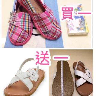 TOMS女童格紋鞋(全新) 新北市