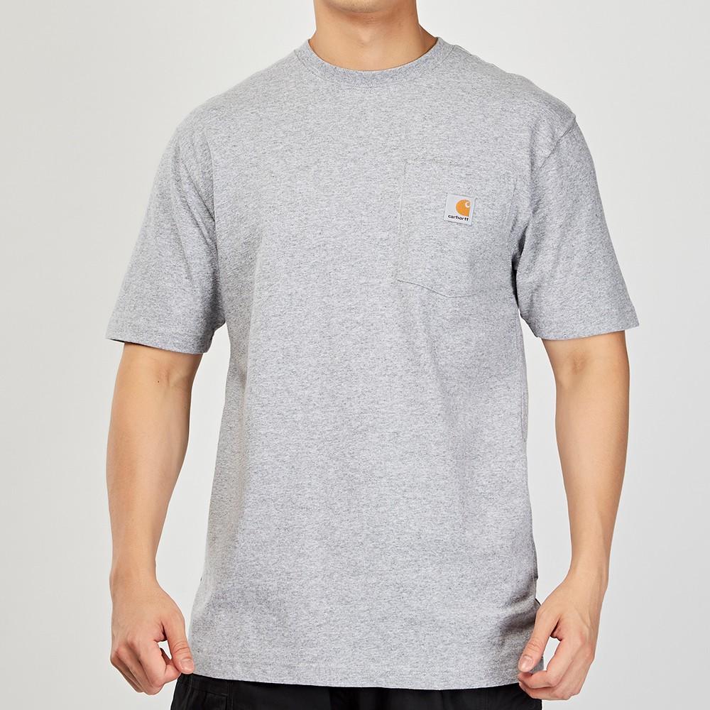 Carhartt Pocket T-Shirt 淺灰 美版 口袋 素面 K87 HGY