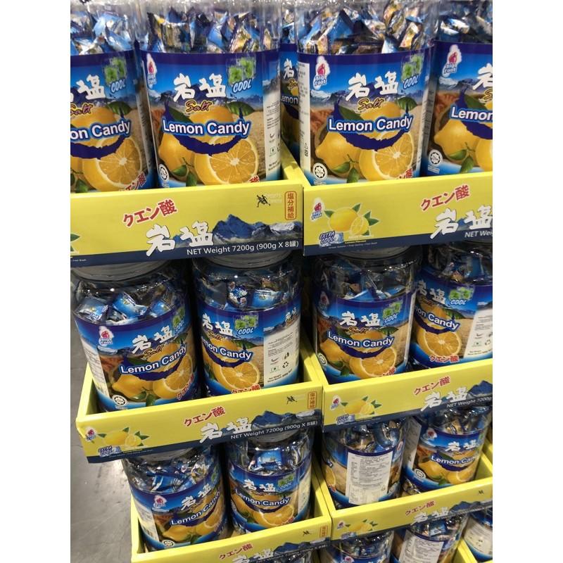 {麒玲小舖}Costco 代購 BF薄荷岩鹽檸檬糖900g(罐)萬聖節、聖誕節~吃糖嘍~