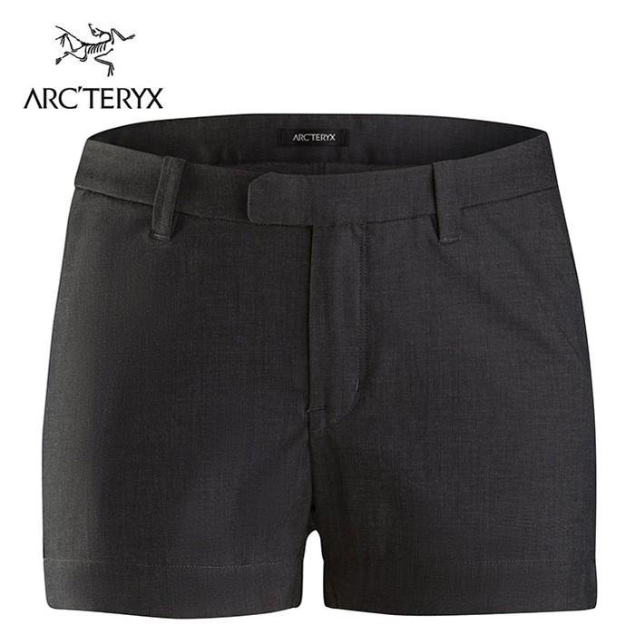 【ARCTERYX 始祖鳥 加拿大】DEVIS 短褲 休閒短褲 女款 碳纖維灰 (L07150700)