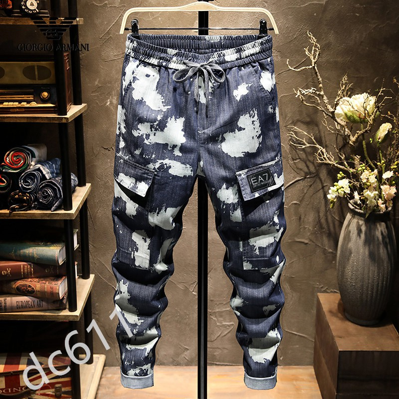 日系新款巴爾曼牛仔褲 個性現貨牛仔褲 BALMAIN牛仔褲 男士牛仔褲 男士牛仔長褲