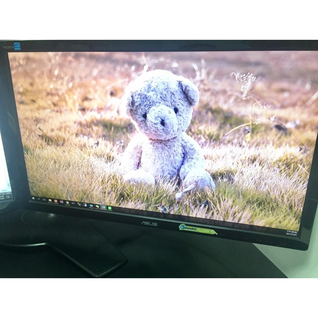 22吋Asus電腦螢幕VE228H NT$3,000出清(加贈lenovo主機Thinkentre M70e)