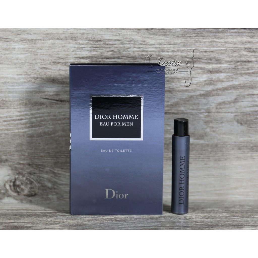 the latest bce9b 192c3 Christian Dior CD 迪奧 經典款桀驁男士香水 Homme EDT 1ml 可噴式 試管香水 全新