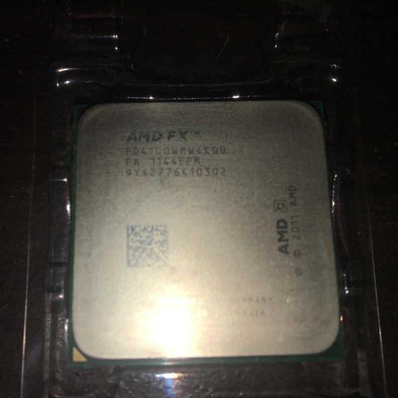 AMD  FX4100  四核心