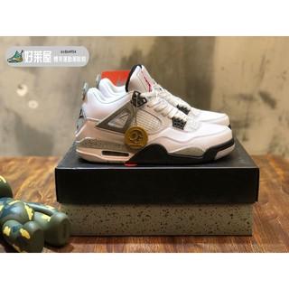 現貨實拍Air Jordan Retro 4 OG Cement 老屁股 水泥 840606-192