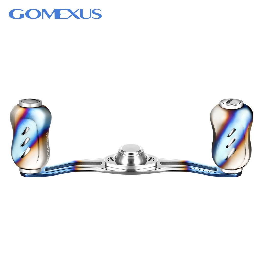 【當天發貨】【滿免運】Gomexus Blade鈦合金系列100m把手可裝Shimano BFS daiwa UL小烏龜