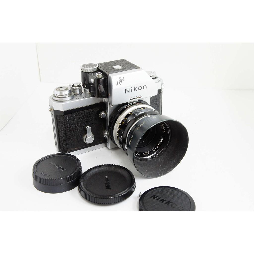Nikon 大F(測光頭) +Nikkor-H Auto 50mm F2 底片機 機械相機