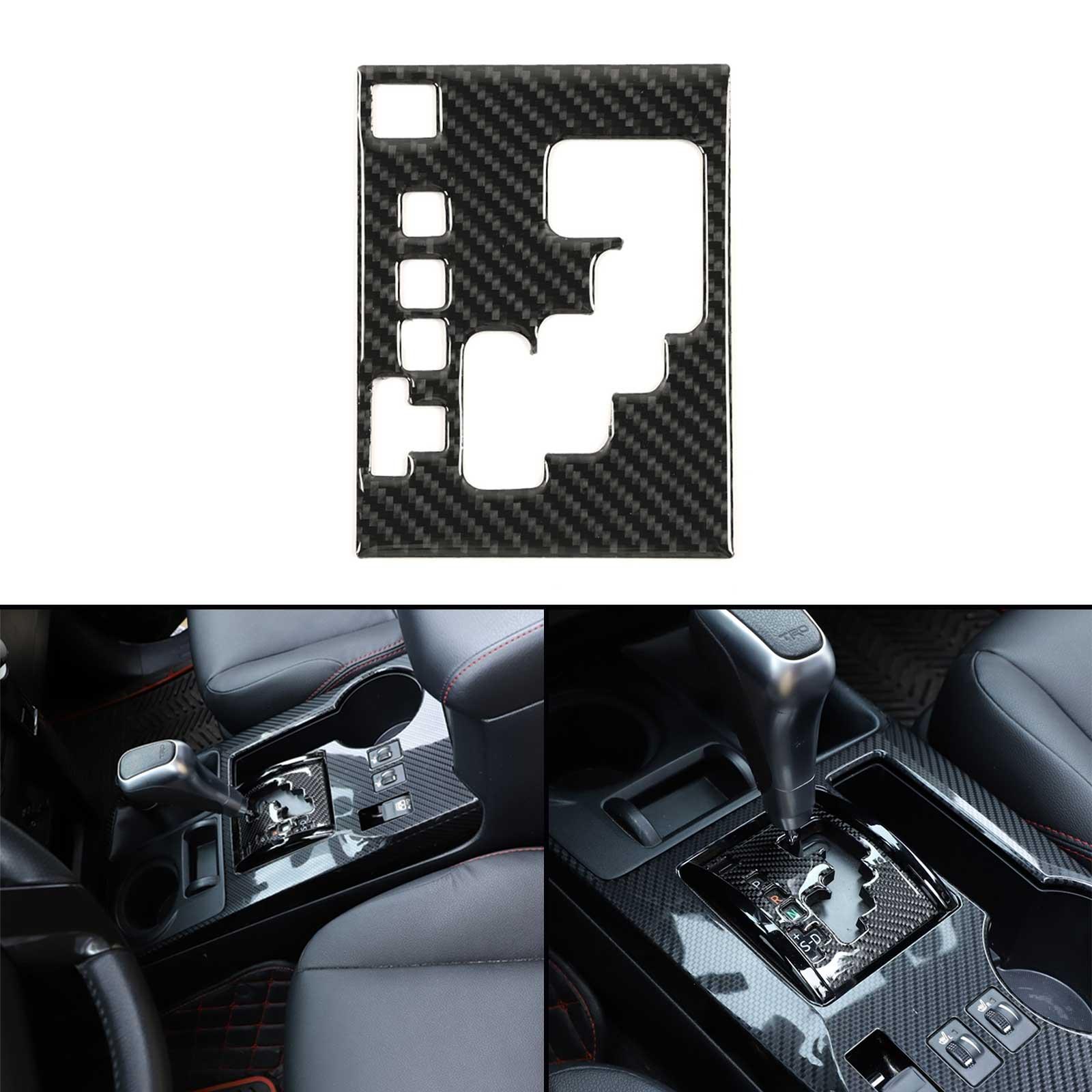 Areyourshop 豐田 4runner 2010-2020 的碳纖維變速箱裝飾蓋配件