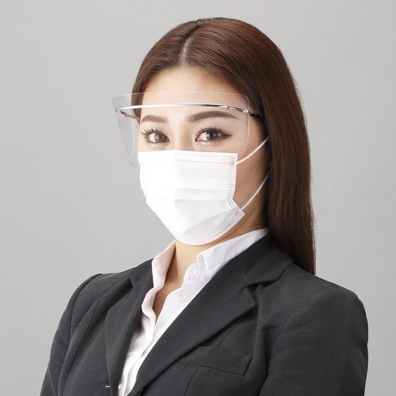 日本製SHARP夏普鈦合金眼部專用 防護面罩 FG-500M