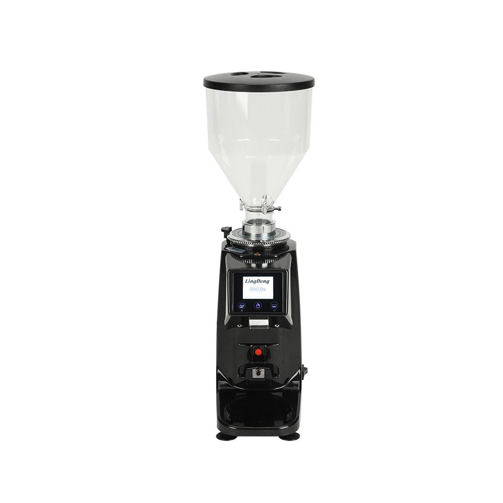 【超低價、廠家直銷】意式電控定量磨豆機商用咖啡館電動磨粉機家用自動研磨機可選110V