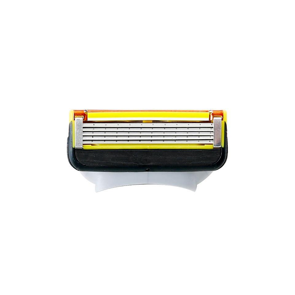 【FREED】五刀式 刮鬍刀片 盒裝 - 黃色
