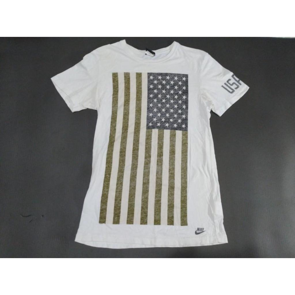 ❤Nike USATF 國旗短T (M)
