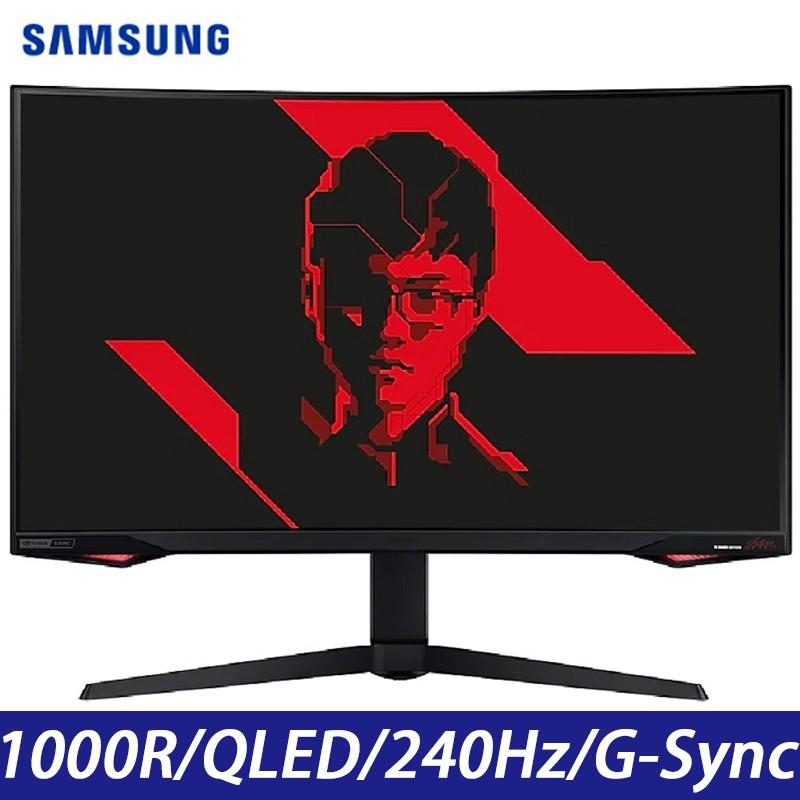 SAMSUNG三星 C32G77TQSC Odyssey G7 32吋 2K 曲面電競螢幕 Faker 聯名 宇星科技