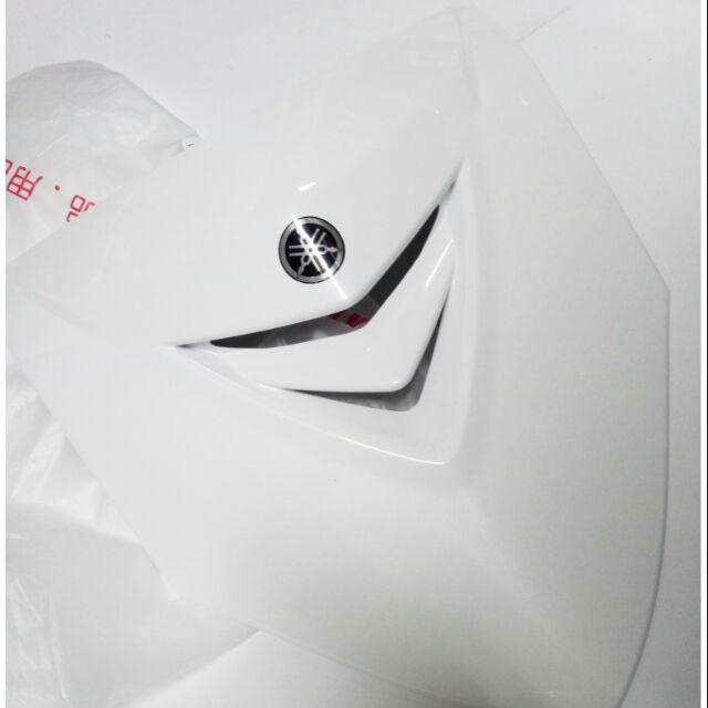 YAMAHA 山葉 原廠 勁戰 二代 白色 盾牌 大盾牌