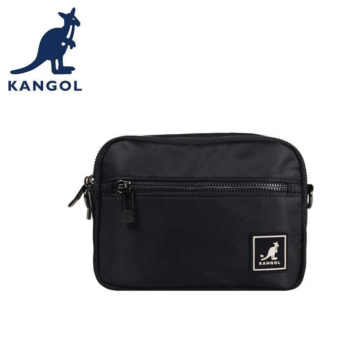 KANGOL 英國袋鼠 側背包/斜背包 6955300320 黑色