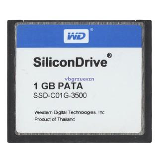 特惠原裝 WD CF  1G 工業級存儲卡 Silicon CF卡 1GB SSD-C01GI工控用8y6v33b_ot 桃園市
