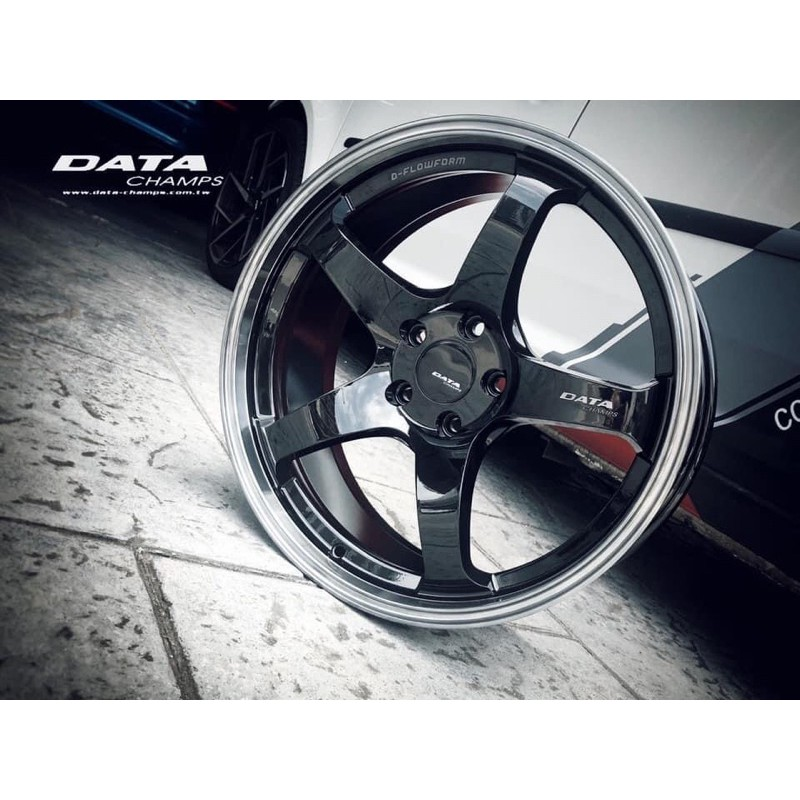高雄人人輪胎 DATA FF05 19吋 旋壓 鋁圈 5孔114.3 5孔108 8.5J