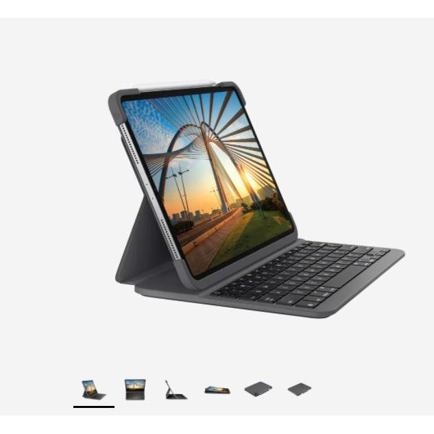 【預購】羅技Logitech SLIM FOLIO Pro巧控鍵盤2021 iPad Pro 11三代/12.9四代