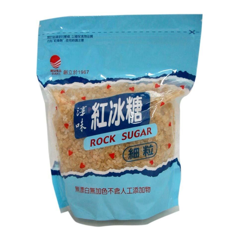 淳味紅冰糖(細) 450g (粗甘蔗煉製/ 原色冰糖) | 蝦皮購物