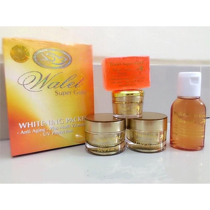 PAKET WALET SUPER GOLD WHITENING 💯 ORIGINAL
