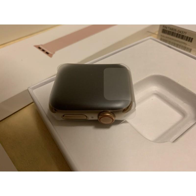 Apple watch S4 LTE 金色不鏽鋼 40mm 可破解心電圖功能 (全新整修品)