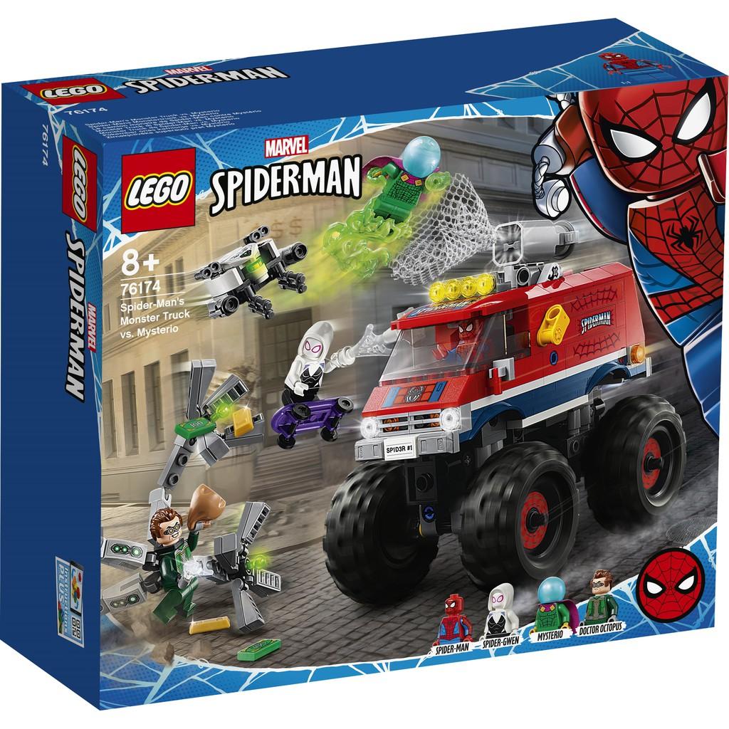 LEGO 樂高 76174 Spider-Man's Monster Truck vs. Mysterio