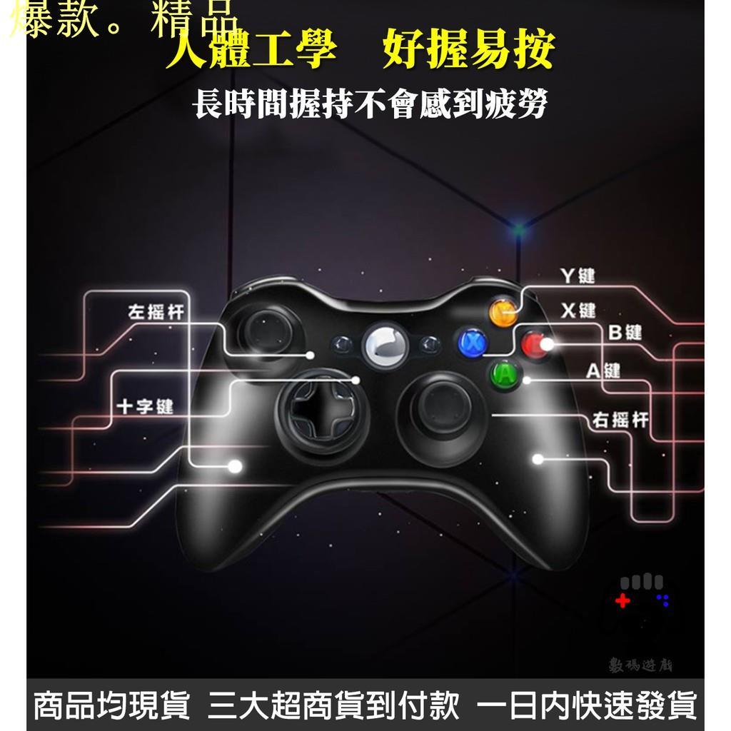 數碼遊戲 電腦 Steam PC Xbox360 有線 控制器 搖桿 手把 手柄 GTA5 2K20 三國無雙 魔物獵人
