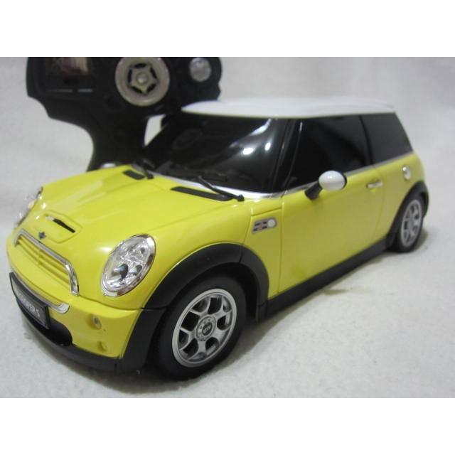 【KENTIM 玩具城】1:14 BMW MINI COOPER S黃色RASTAR遙控車