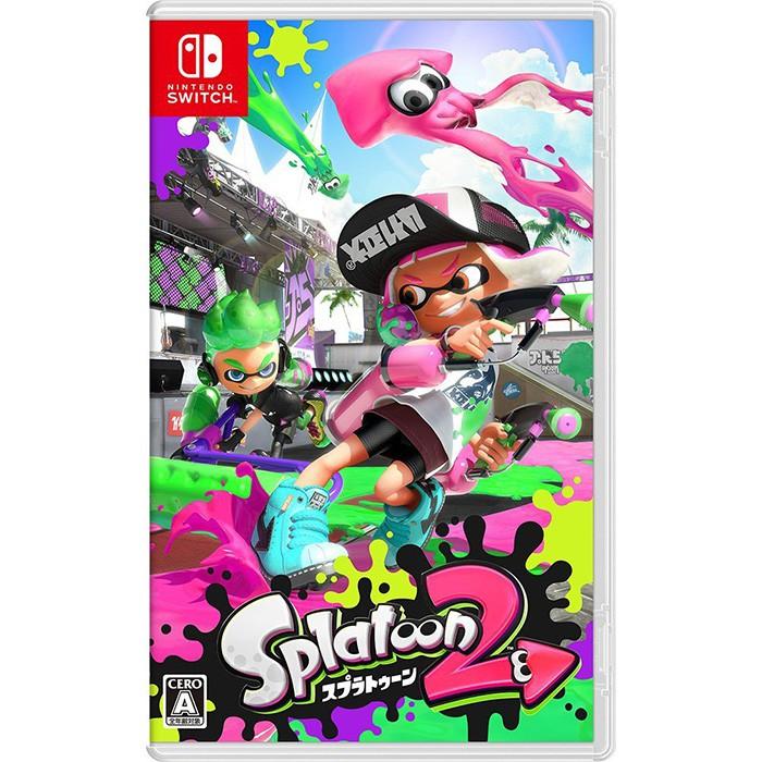 Nintendo Switch 漆彈大作戰2 日文版全新品【員林雪風電玩】