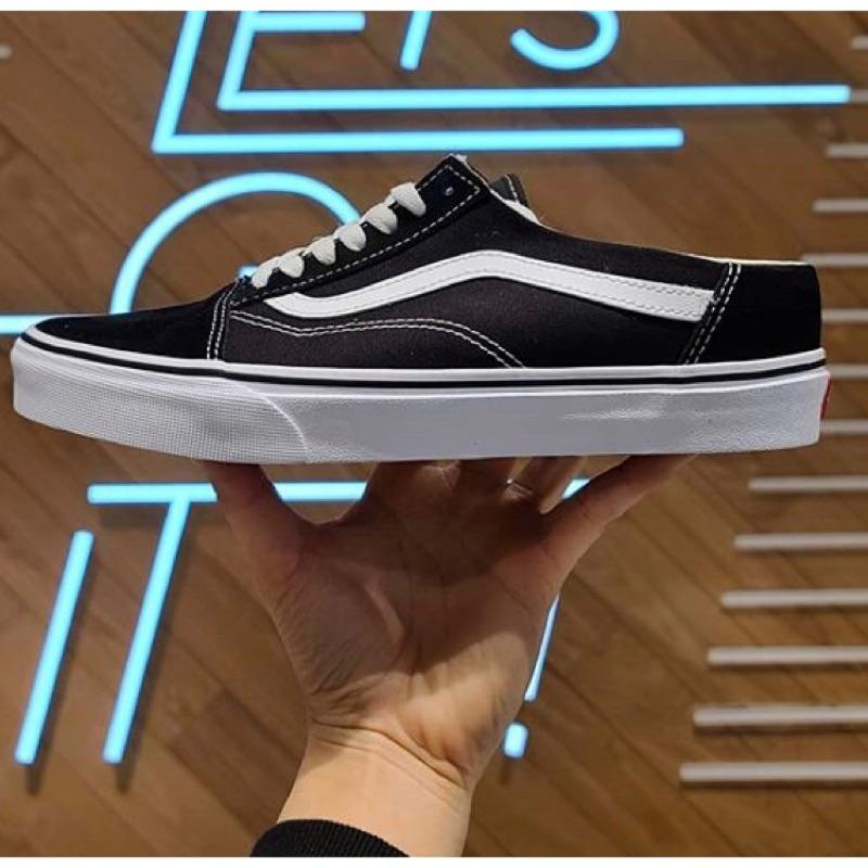 Vans 穆林鞋 黑色/米白