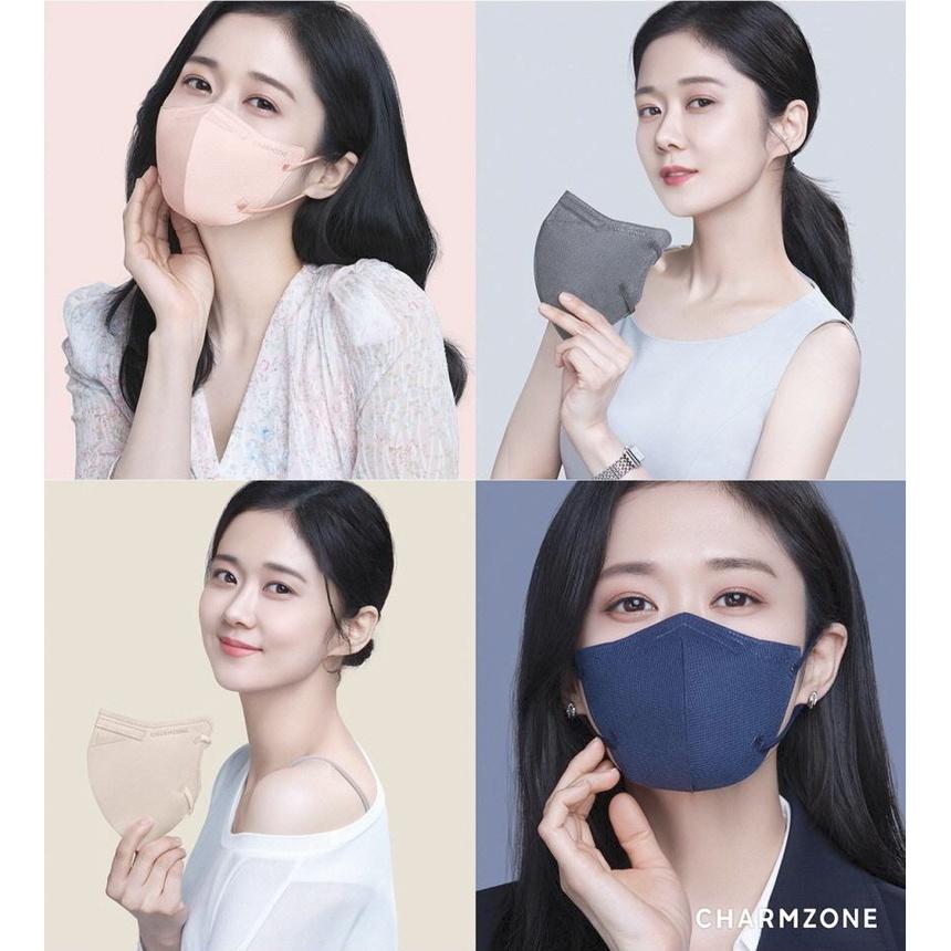 韓國製 張娜拉代言 CHARMZONE 夏日輕薄透氣口罩/ KF94口罩 5片/10片/25片(非醫療)