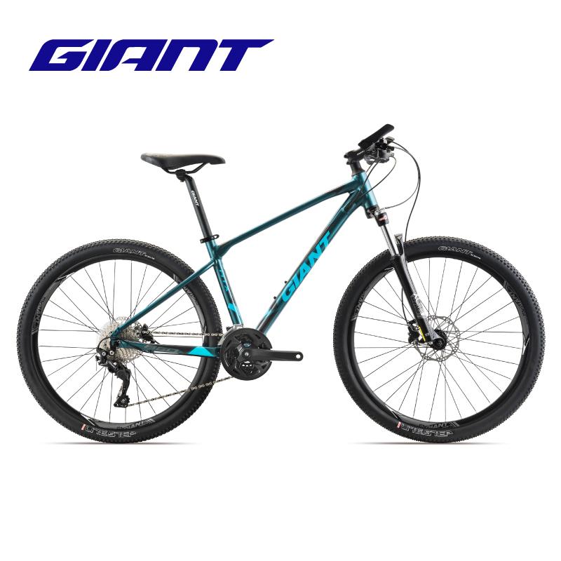 新GIANT捷安特ATX 860成人變速鋁合金油壓碟剎可鎖死避震山地自行車