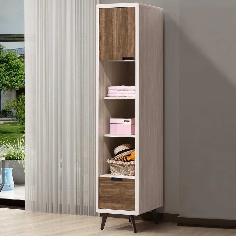 YoStyle 法閣1.4尺半開放衣櫃 衣櫥 收納櫃 置物櫃 展示櫃 櫥櫃 專人配送安裝